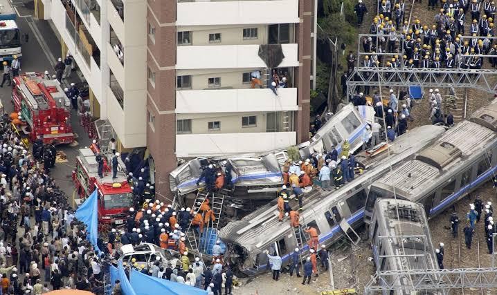 祈りの杜 福知山線列車事故現場